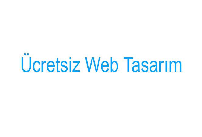Ücretsiz Web Tasarım