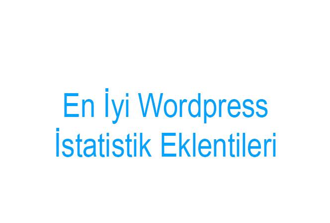 WordPress İstatistik Eklentileri